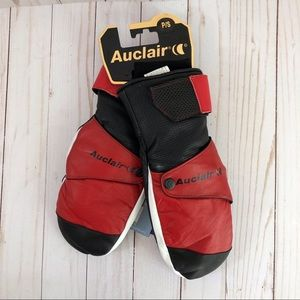 Auclair Men's Thinsulate Leather Ski Mittens